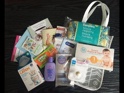 Target Baby Registry Bag 2017 - YouTube