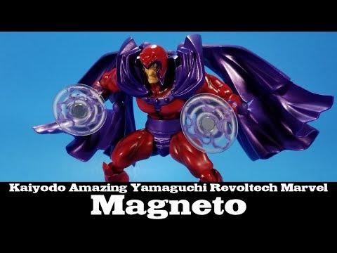 "Magneto Revoltech Series No.006 Kaiyodo 6/"" Action Figure Complex New In Box"