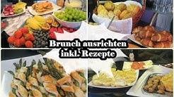 Brunch für 16 Personen/Rezepte/MamaVLOG/Mel´s Kanal