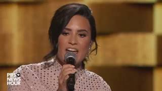 Watch Demi Lovato perform