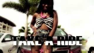 KIMMY - Take a ride [Antigua Soca 2013] (Official Music Video)