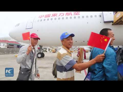China sends planes to fly its stranded citizens out of hurricane-hit Caribbean