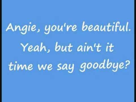 The Rolling Stones - Angie Lyrics | MetroLyrics
