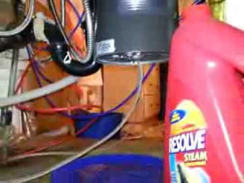 how to fix leaking waste disposal