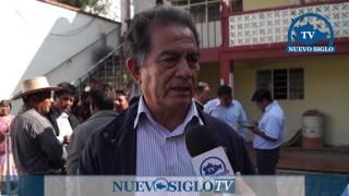 OAXACA NUEVO SIGLO TV ENTREGA DE PALACIO MUNICIPAL EN SANTA MARIA APAZCO NOCHIXTLAN