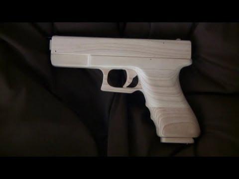 Blowback Rubber Band Gun Mechanism - Glock Type Youtube