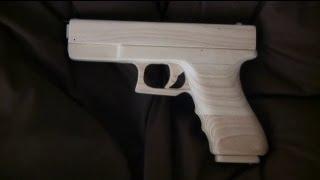 Blowback Rubber Band Gun : Mechanism - Glock type