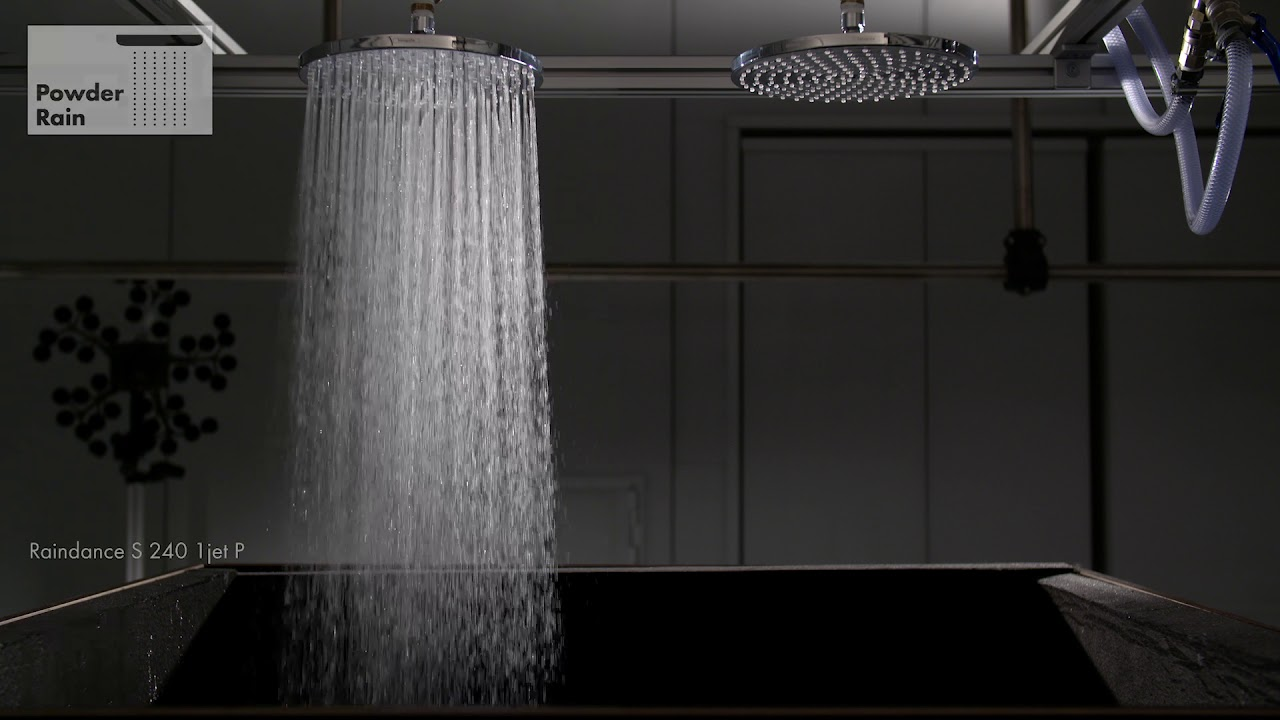Hans Grohe Hansgrohe Powderrain Sound Test