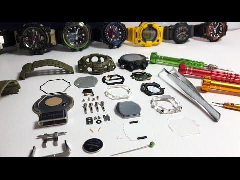 Whats Inside The GW-9400 Triple Sensor Series Rangeman G-Shock Watch!