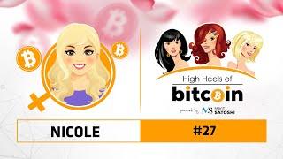 Nicole (NrdGrl007) - High Heels of Bitcoin #27