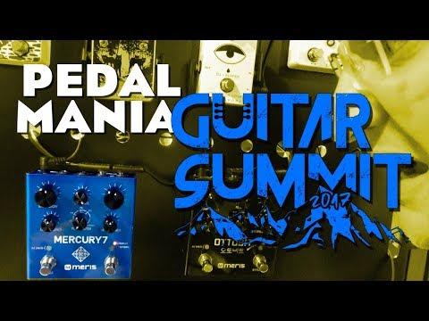 Warwick Pedal Mania at the Guitar Summit - Meris Mercury 7