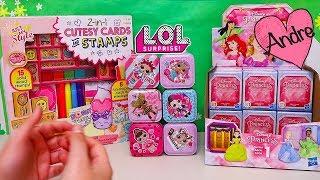 Andre abriendo cajas misteriosas LOL Surprise!!! Muñecas y juguetes con Andre para niñas y niños