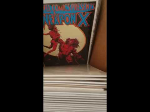 Preview Of Comic Books in Long Box #3... I may sell on eBay & Facebook