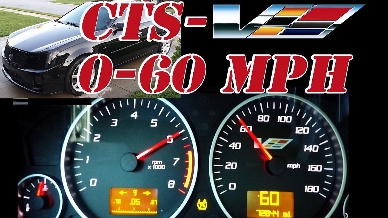 0 60 mph 2007 cadillac cts v ls2 t56 6 speed