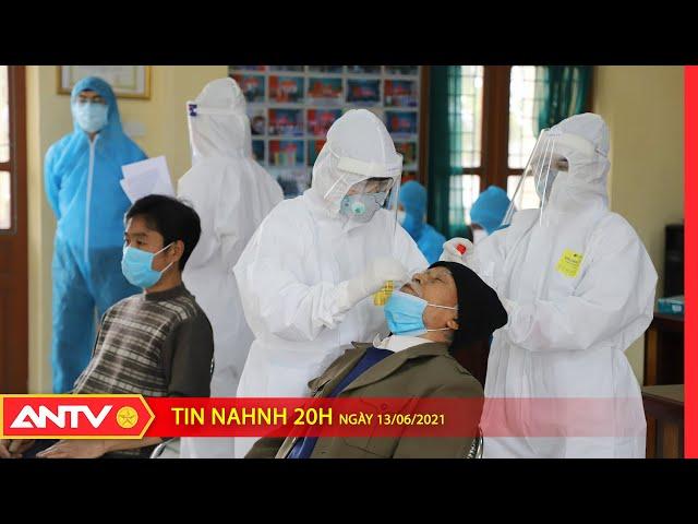 Tin nhanh 20h ngày 13/6: Tối 13/6, Việt Nam ghi nhận thêm 103 ca mắc Covid 19 mới   ANTV