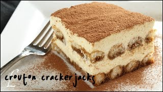 How to Make Tiramisu!! Classic Italian Dessert Recipe