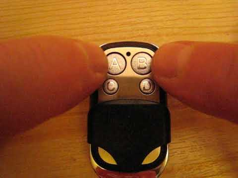 433MHz Universal Garagentor Alarmanlage Drahtlose Auto-Fernbedienung Duplikator