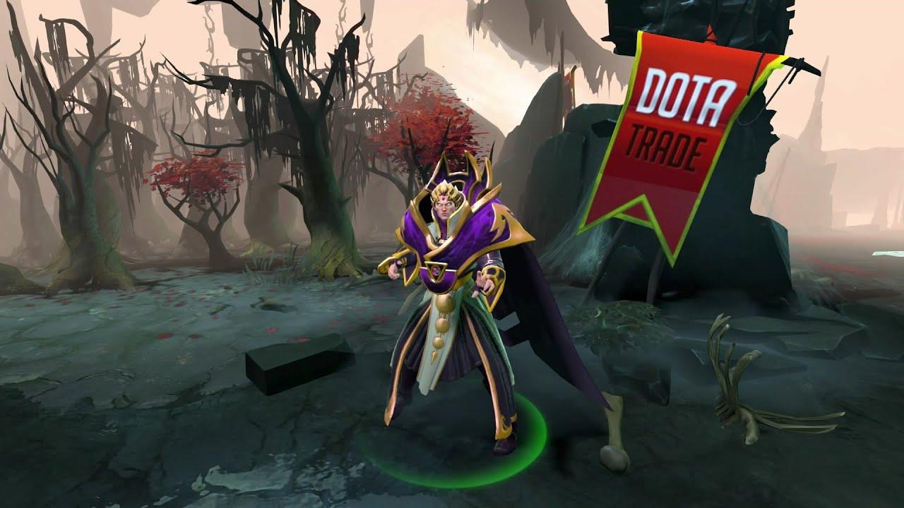 Sinister Lightning Invoker Set Preview Dota 2