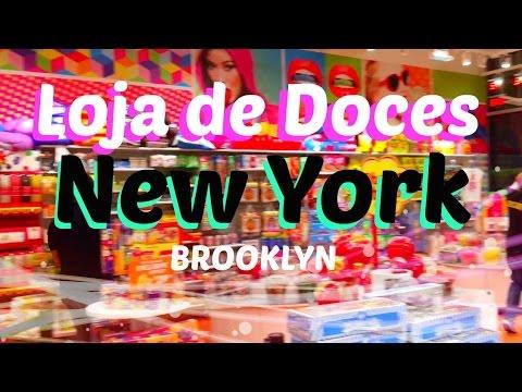 IT'S SUGAR: A MELHOR LOJA DE DOCES DO BROOKLYN NOVA YORK (INCRIVEL) - 4K