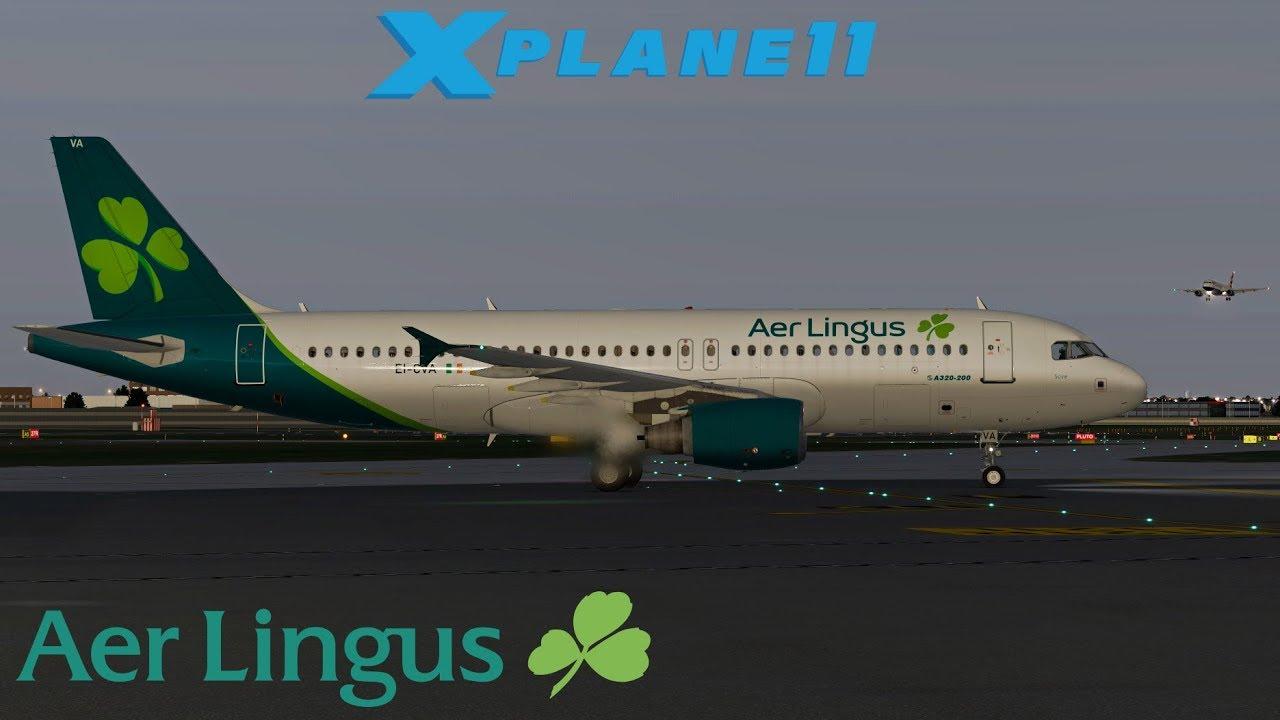 Aer Lingus NEW LIVERY 2019 A320 | Cork - London Heathrow | X