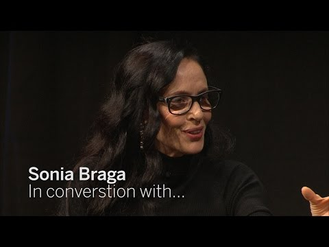 SONIA BRAGA In Conversation With...  TIFF 2016
