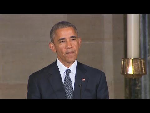 Obama lets emotions show at Beau Biden's funeral
