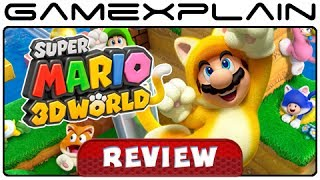 Super Mario 3D World - Video Review (Wii U)(http://www.GameXplain.com Does Super Mario 3D World live up to the Mario name? And how's it stack up to Super Mario 3D Land? Find out in our in-depth ..., 2013-11-19T18:00:03.000Z)