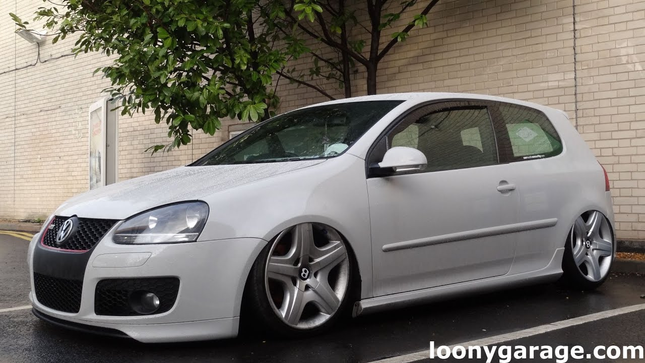 vw golf mk5 gti air ride youtube. Black Bedroom Furniture Sets. Home Design Ideas