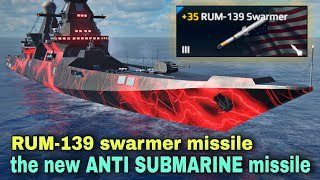 Modern Warships: the new ANTI SUBMARINE Missile in Modern Warships game. screenshot 4