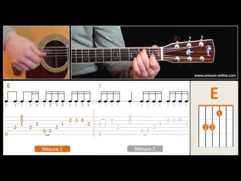 Jouer Unintended (Muse) - Cours guitare. Tuto + Tab