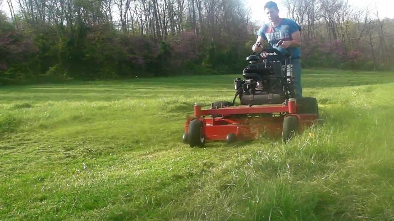 commercial exmark walkbehind lawn