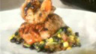 Post Oak Grill's Pan Seared Chipotle Honey Glazed Salmon