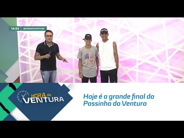 Hoje é a grande final do Passinho do Ventura - Bloco 02