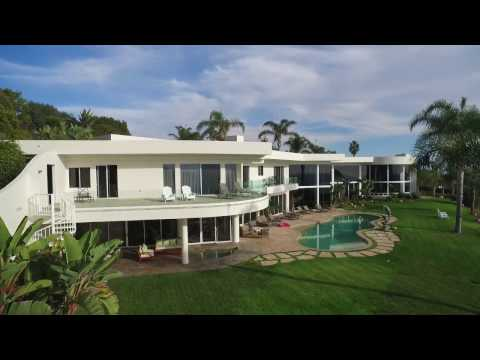 Malibu Modern Estate Aerial Video | PCAS Real Estate Drone Services