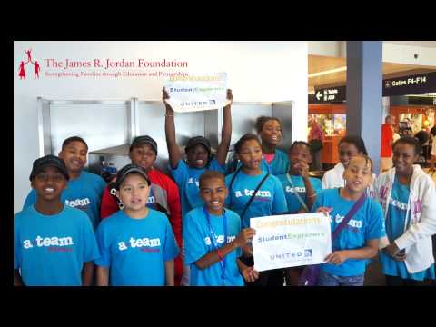 James R. Jordan Foundation Robotics Camp Departure