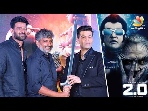 Thumbnail: Karan Johar Reaction on Rajini's 2.O Satellite Rights For 110cr | Bahubali 2 Trailer Launch