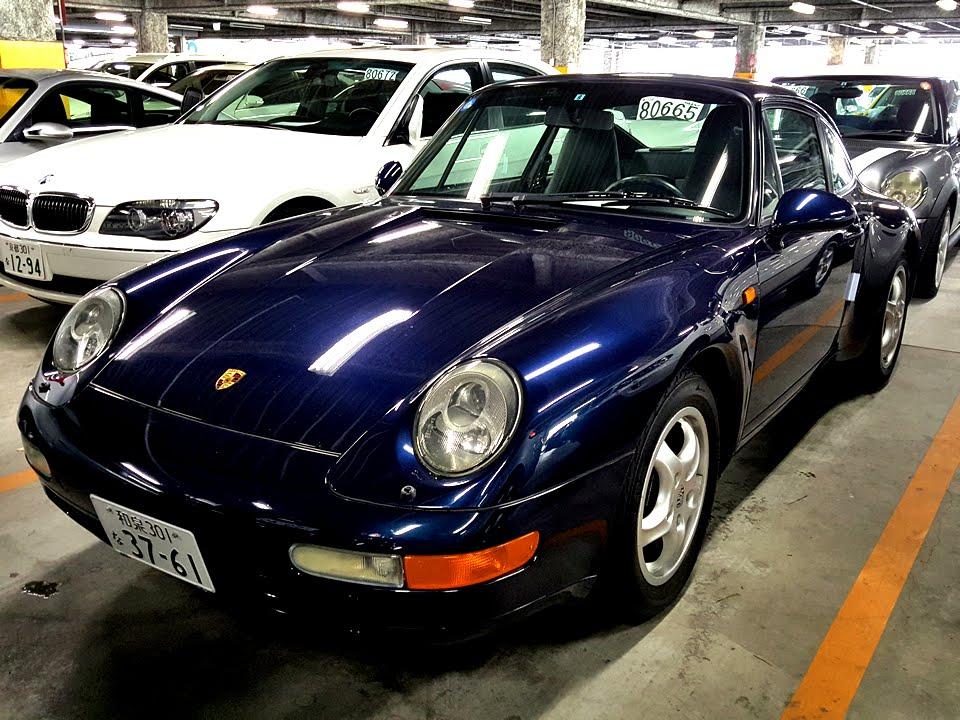 porsche 911 carrera 993 smile jv japan car auction youtube. Black Bedroom Furniture Sets. Home Design Ideas