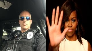 Alabama Cop Fired After Posting Meme Saying Michelle Obama Is Fluent In Ghetto
