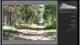 Уроки Photoshop Lightroom. Коррекция фотографий, Гистограмма