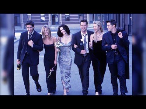 Cúmprense 25 anos da estrea de 'Friends'