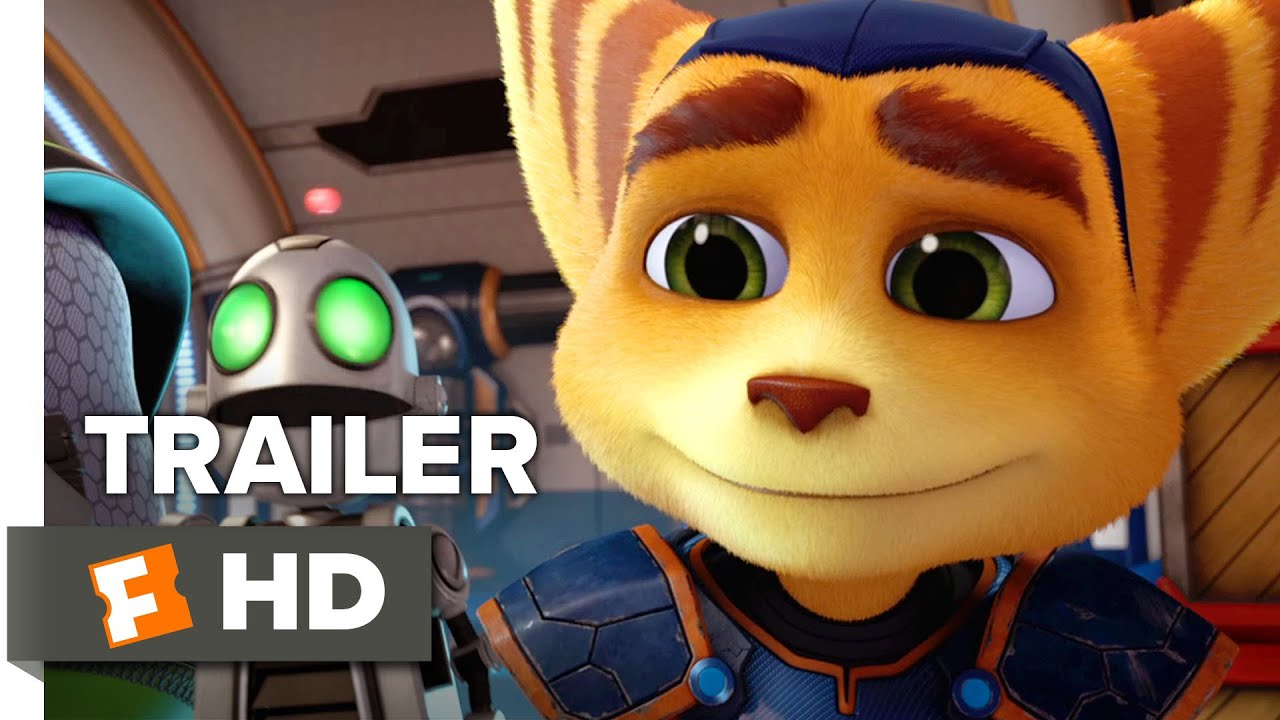 Ratchet Clank Official Trailer 1 2016 Bella Thorne Animated Movie Hd Youtube