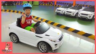 키즈 카페 자동차 장난감 타기 놀이 ♡ 랜드로버 레인지로버 차타타 테마파크 Car Kids Cafe Indoor Family Fun Play | 말이야와아이들 MariAndKids