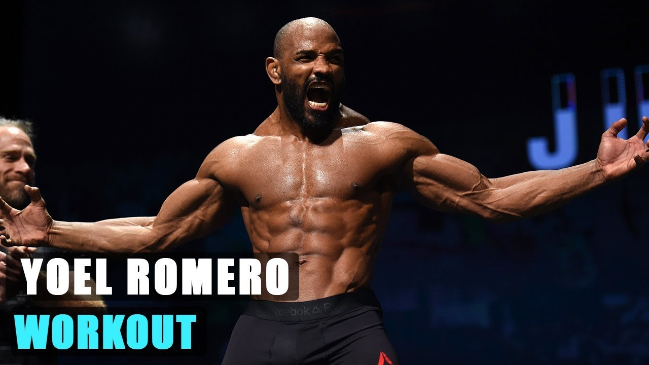 Yoel 'Soldier of God' Romero hard training - YouTube