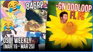 Totoki 846PP!!, -GN oddloop FL FC!, filsdelama 778pp, Mathi going INSANE & more! - osu! Weekly #43 thumbnail