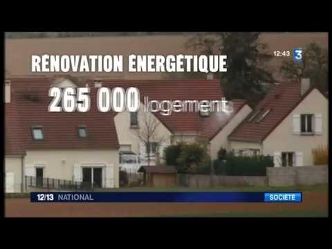 Journal national 12-13 de France 3 - Agence Française pour l'Isolation de l'Habitat