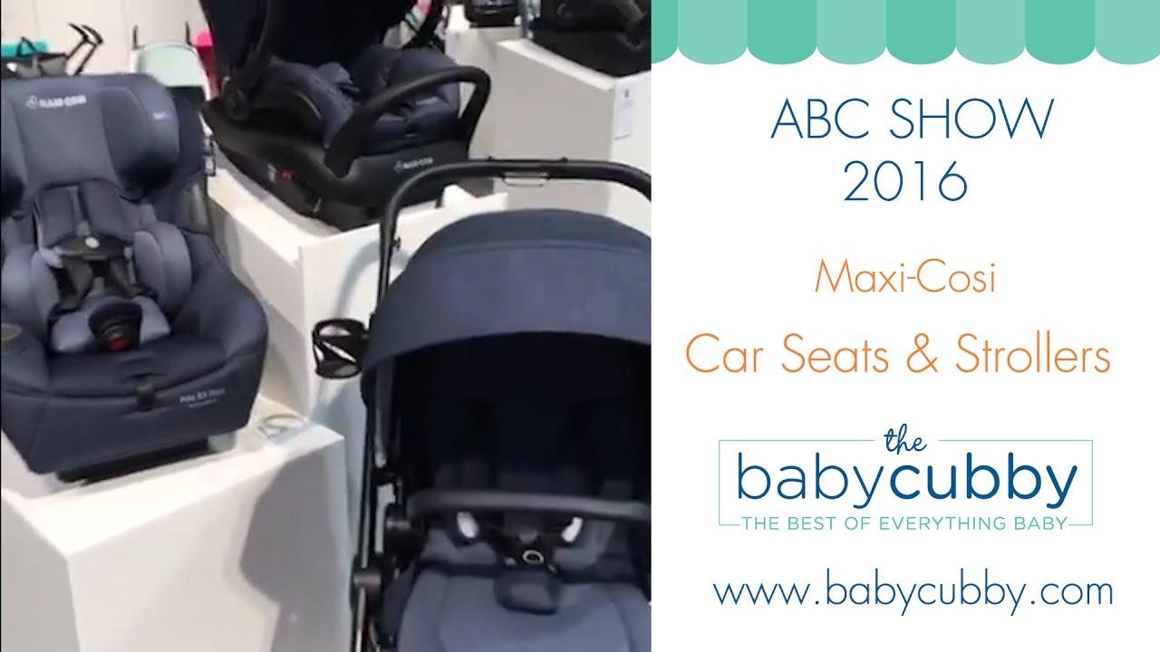 Maxi Cosi New Car Seats Strollers ABC Kids Expo 2016