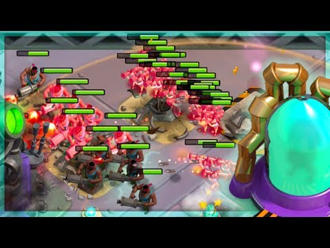 Boom Beach NEW Mega Crab Super Soldiers! Stages 16-21 ALL Solos!