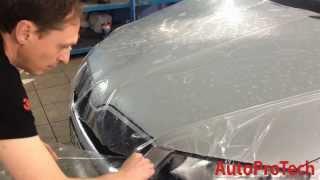 Оклейка капота целиком Octavia A7 в Установочном центре AutoProTech