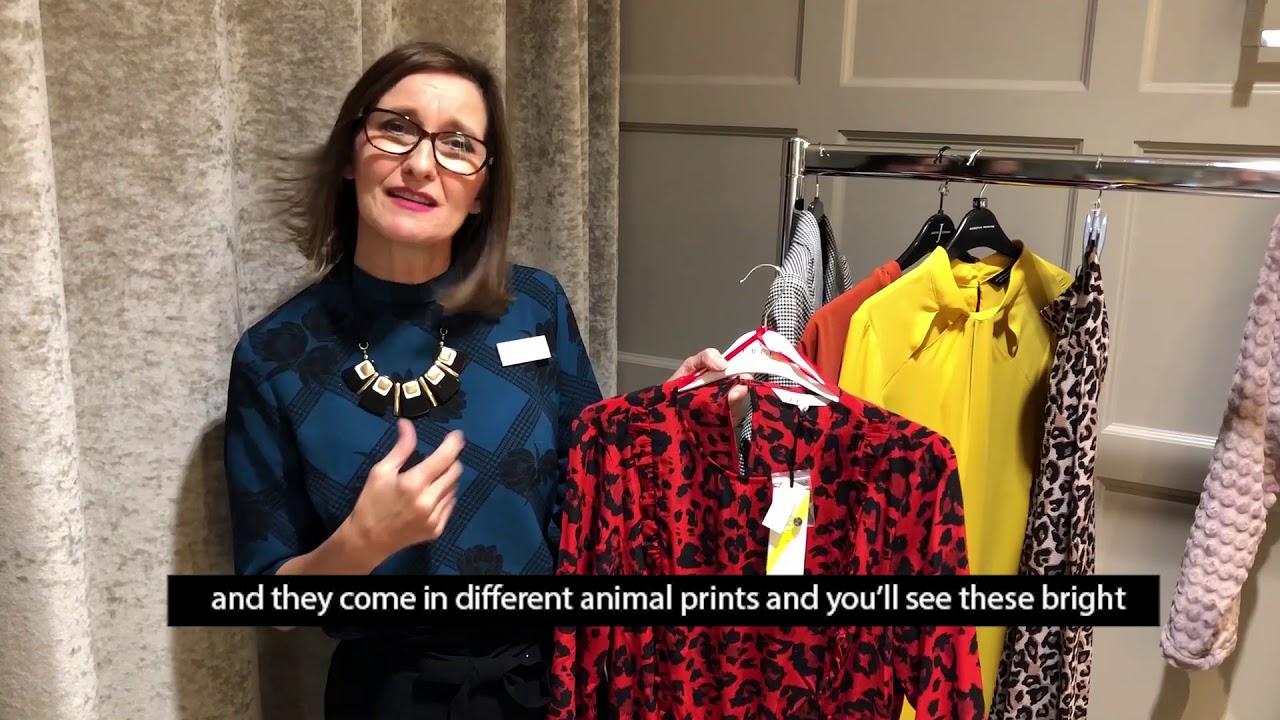 436b9d1d8e49 LOROS Fashion show with Debenhams personal shoppers - YouTube