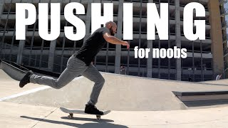 How to PUSH Lİke A Pro Skater (and NOT Look Awkward!)